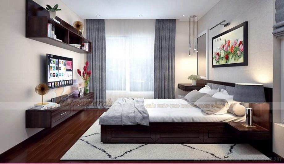 Phương án thiết kế nội thất hiện đại cho căn hộ Vinhome Skylake -07
