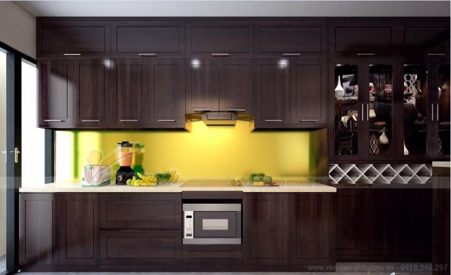 Phương án thiết kế nội thất hiện đại cho căn hộ Vinhome Skylake -06