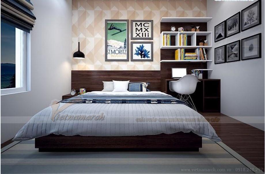 Phương án thiết kế nội thất hiện đại cho căn hộ Vinhome Skylake -08
