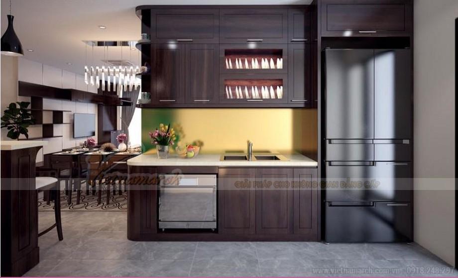 Phương án thiết kế nội thất hiện đại cho căn hộ Vinhome Skylake -05