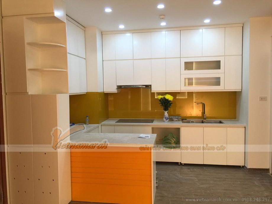 Không gian phòng bếp nổi bật của căn hộ Park Hill