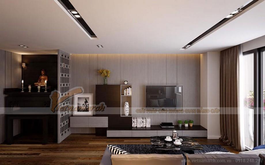 Thiết kế nội thất căn hộ mẫu chung cư Vinhomes Green Bay