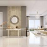 Tư vấn phương án thiết kế nội thất căn hộ 12 tòa G1 Vinhomes Green Bay 1 phòng ngủ