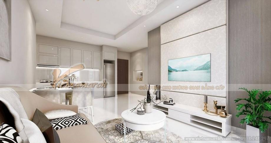 Ý tưởng thiết kế nội thất cho căn hộ tại Vinhomes Green Bay
