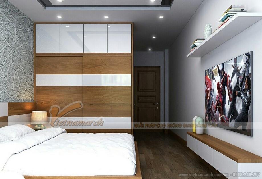 Thiết kế nội thất hiện đại sáng tạo cho căn hộ chung cư Vinhomes Skylake-04