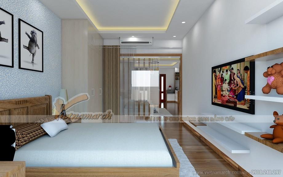 Thiết kế nội thất hiện đại sáng tạo cho căn hộ chung cư Vinhomes Skylake-05