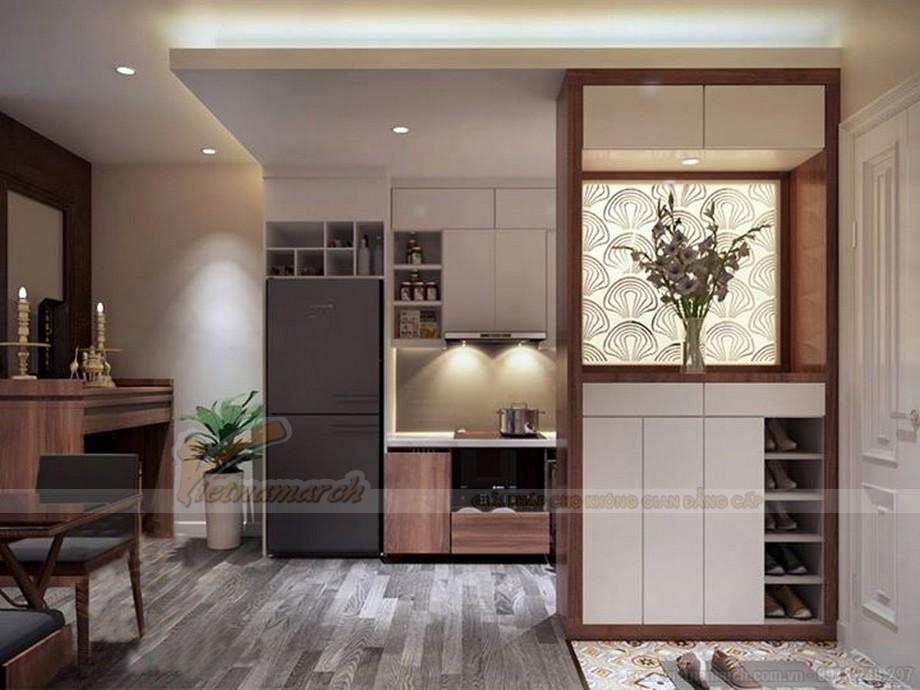 Thiết kế nội thất hiện đại cho căn hộ nhỏ chung cư Vinhomes Skylake-04