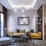 Thiết kế nội thất hiện đại cho căn hộ nhỏ chung cư Vinhomes Skylake