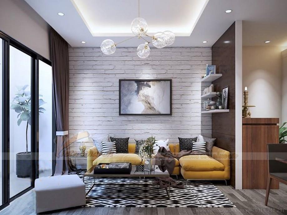 Thiết kế nội thất hiện đại cho căn hộ nhỏ chung cư Vinhomes Skylake-01