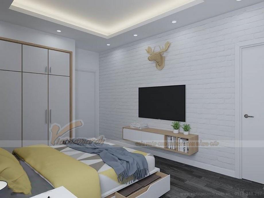 Thiết kế nội thất hiện đại cho căn hộ nhỏ chung cư Vinhomes Skylake-07