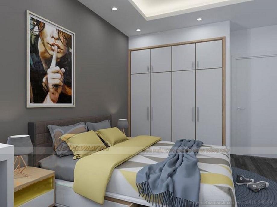 Thiết kế nội thất hiện đại cho căn hộ nhỏ chung cư Vinhomes Skylake-06