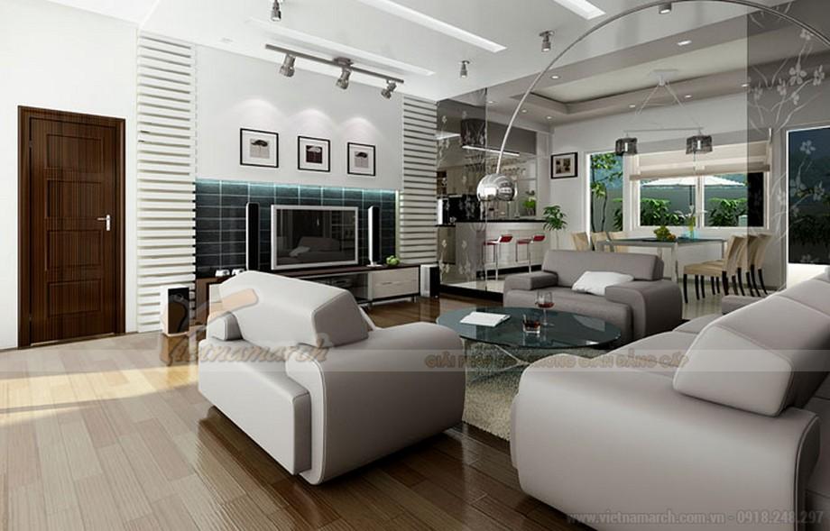 Thiết kế nội thất hiện đại sáng tạo cho căn hộ chung cư Vinhomes Skylake-01