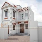 Thiết kế và thi công biệt thự 3 tầng nhà anh Hồng tại Quảng Ninh
