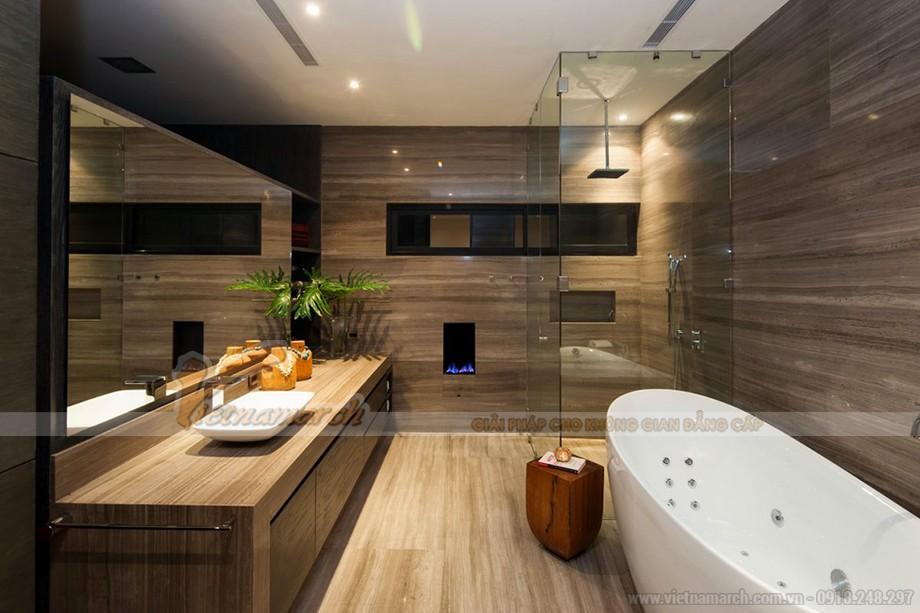 Phòng tắm hiện đại và đầy đủ tiện nghi
