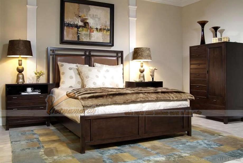 Phòng ngủ lớn thứ 2 cũng được thiết kế theo phong cách tân cổ điển