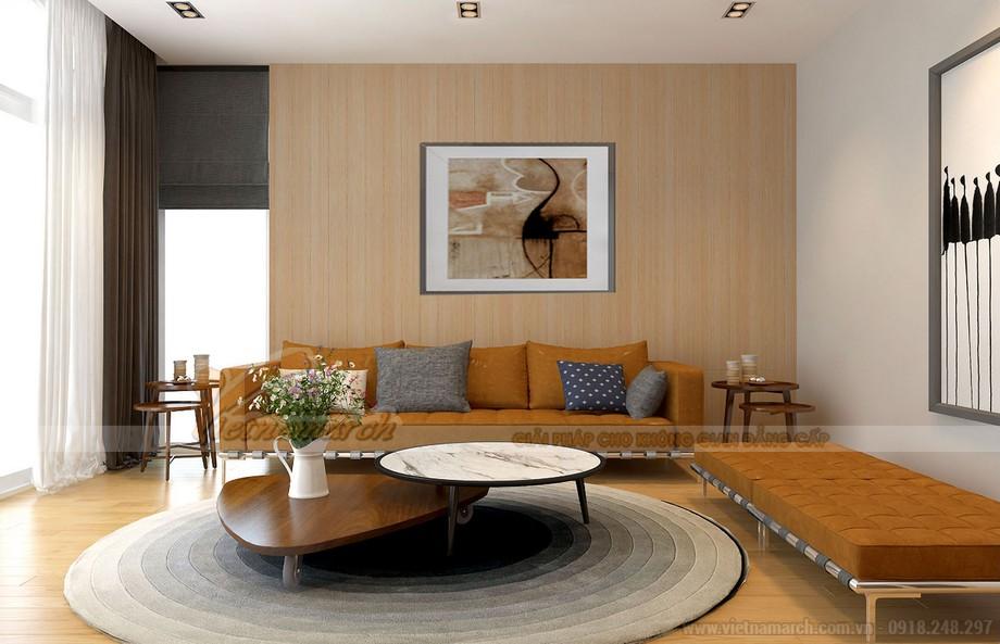 Ấm áp và tinh tế với bộ sofa vải nỉ