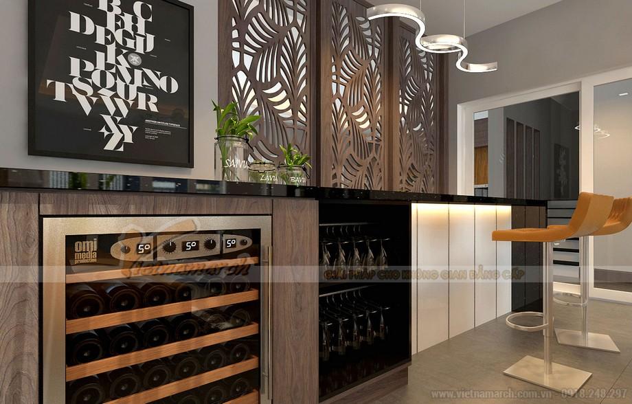 Nội thất đồ gỗ cực chất cho phòng bếp