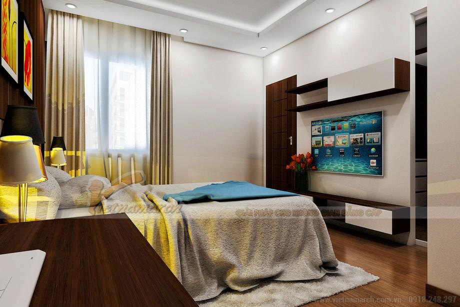 Thiết kế phòng ngủ hiện đại và trẻ trung năng động