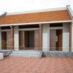 Thiết kế và thi công hoàn thiện nhà thờ dòng họ tại Thạch Thất – Hà Nội