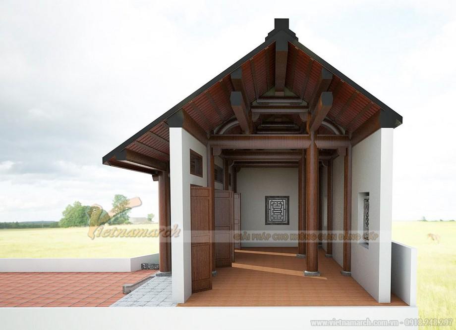 Nha tho ho kết cấu bê tông giả gỗ