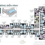Tổng quan mặt bằng và phương án thiết kế các căn hộ tòa G1 chung cư Vinhomes Green Bay