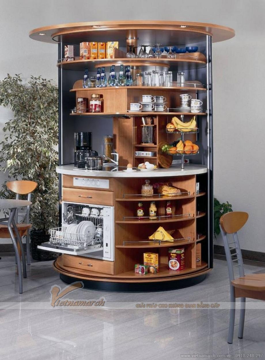 Tủ bếp thông minh cho không gian phòng bếp hiện đại 07