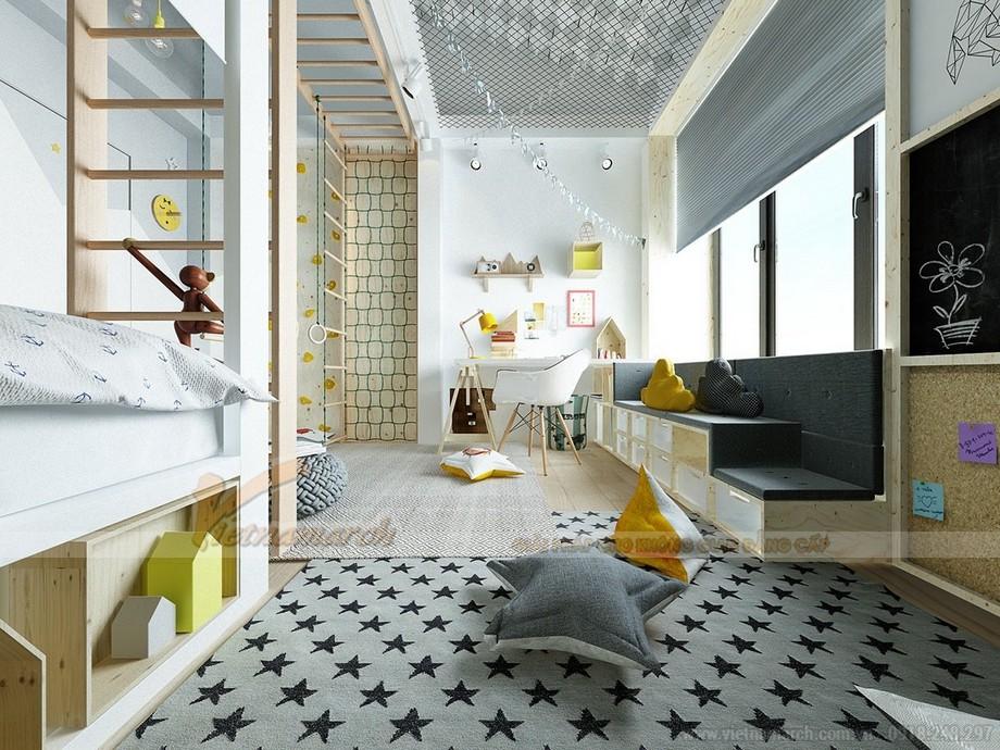 Thiết kế, trang trí phòng ngủ cho trẻ cực sáng tạo