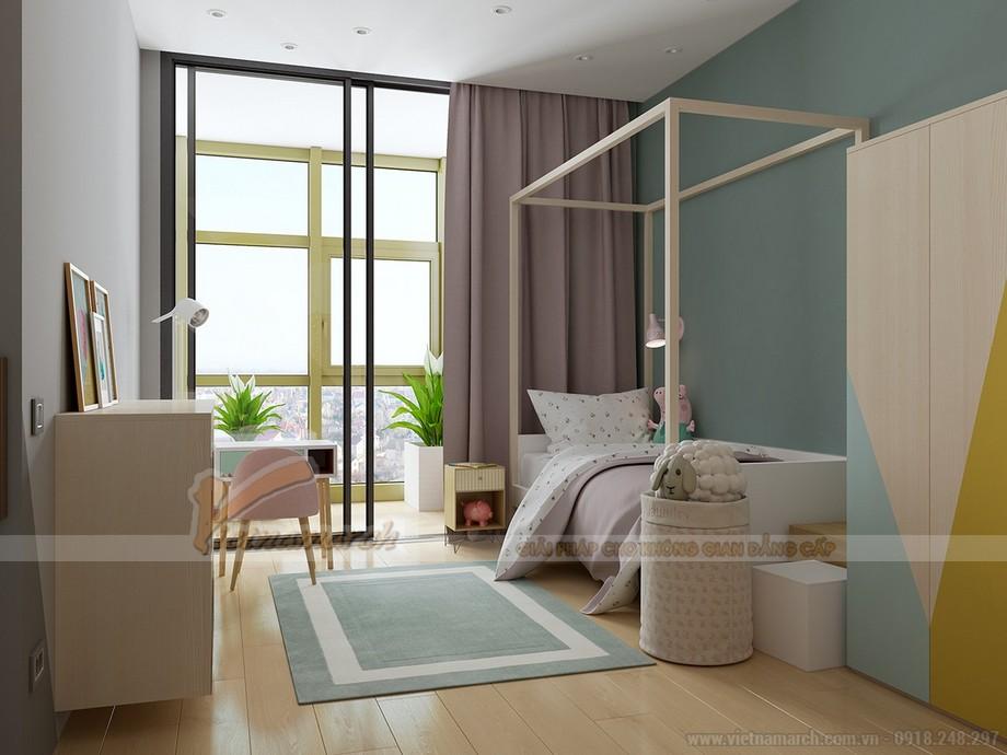 Mẫu phòng ngủ được thiết kế khoa học cho trẻ nhỏ
