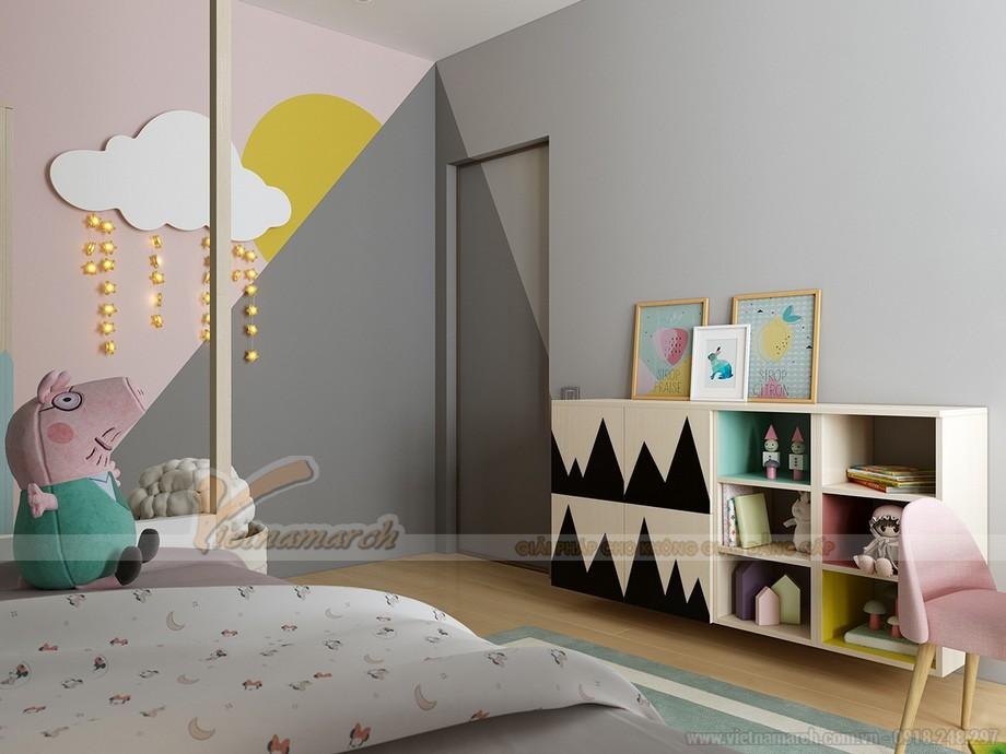 Mẫu phòng ngủ được thiết kế khoa học cho trẻ nhỏ 05