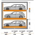 Hệ thống đỗ xe bán tự động TrendVario 4300