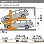 Hệ thống đỗ xe SingleUp 2015