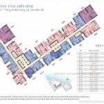 Mặt bằng điển hình các căn hộ tòa S2 chung cư Vinhomes Skylake