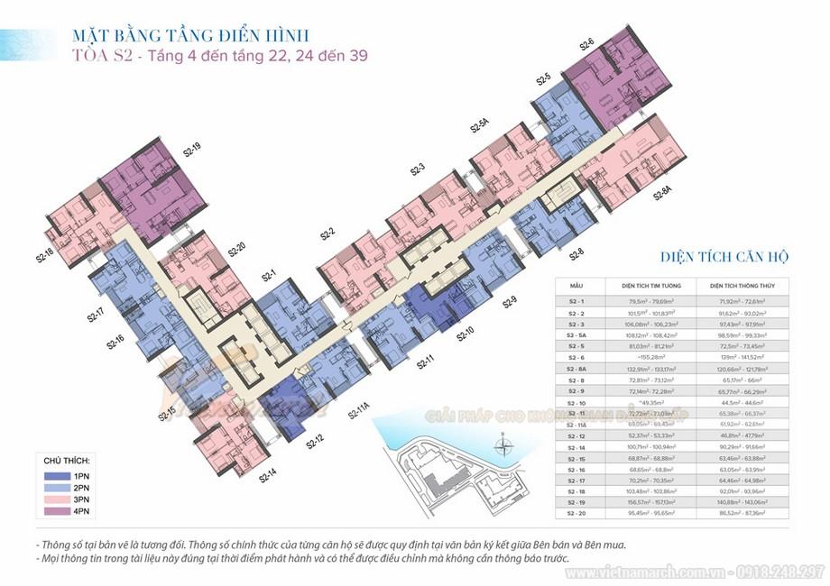 Tư vấn thiết kế nội thất Vinhomes Skylake tòa S2