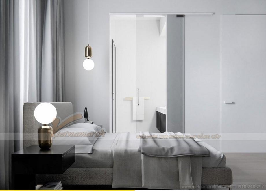 Mẫu thiết kế nội thất phòng ngủ cho căn hộ 19 tòa S2 chung cư Vinhome Skylake-05