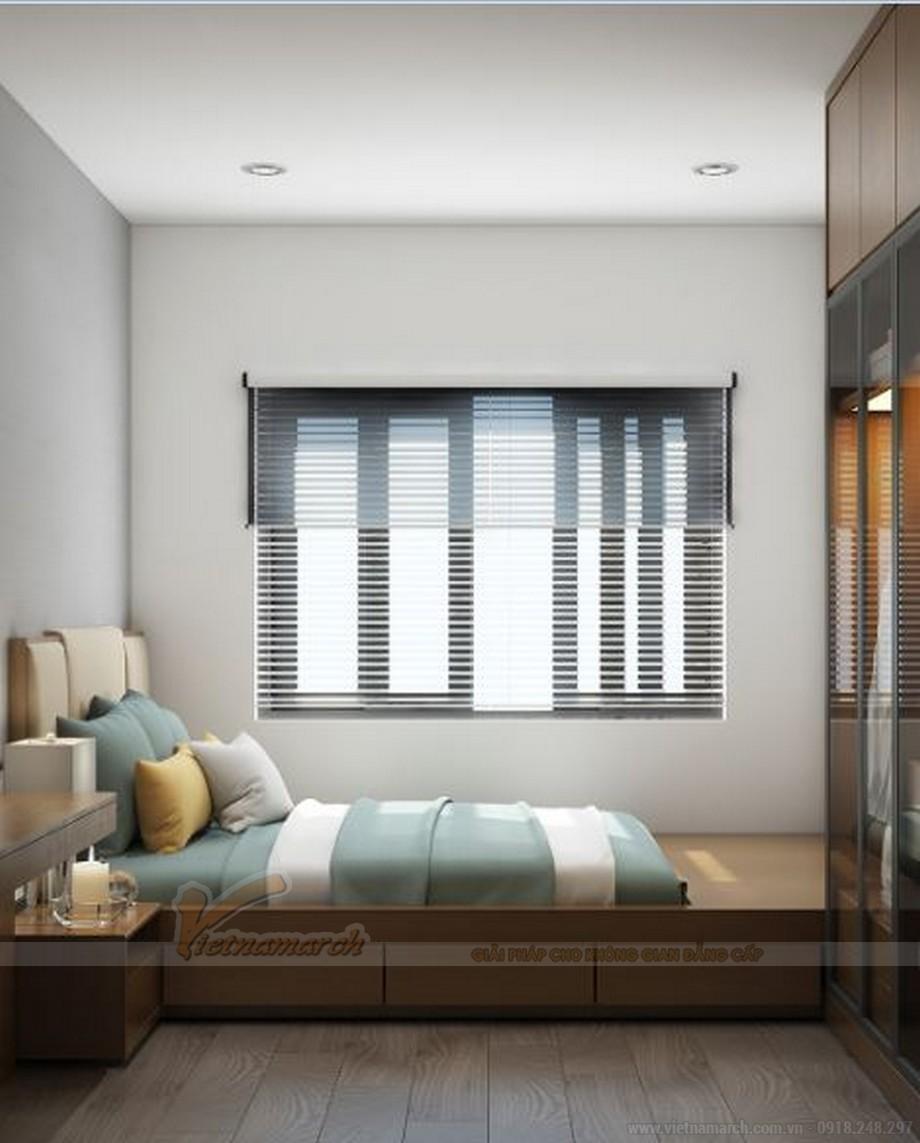 Mẫu thiết kế nội thất phòng ngủ cho căn hộ 19 tòa S2 chung cư Vinhome Skylake-07
