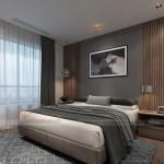 Thiết kế nội thất phòng ngủ đẹp lung linh cho căn hộ Vinhome Skylake