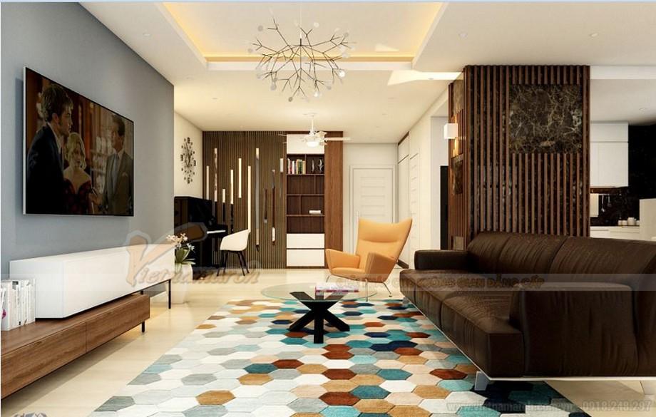 Phương án thiết kế nội thất cho căn hộ 02 tòa S2 chung cư Vinhomes Skylake-02
