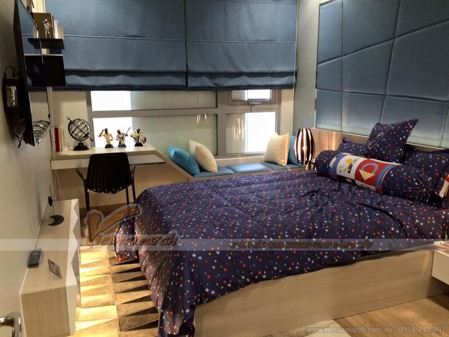 Phòng ngủ cho trẻ trong căn hộ mẫu Vinhomes Gardenia