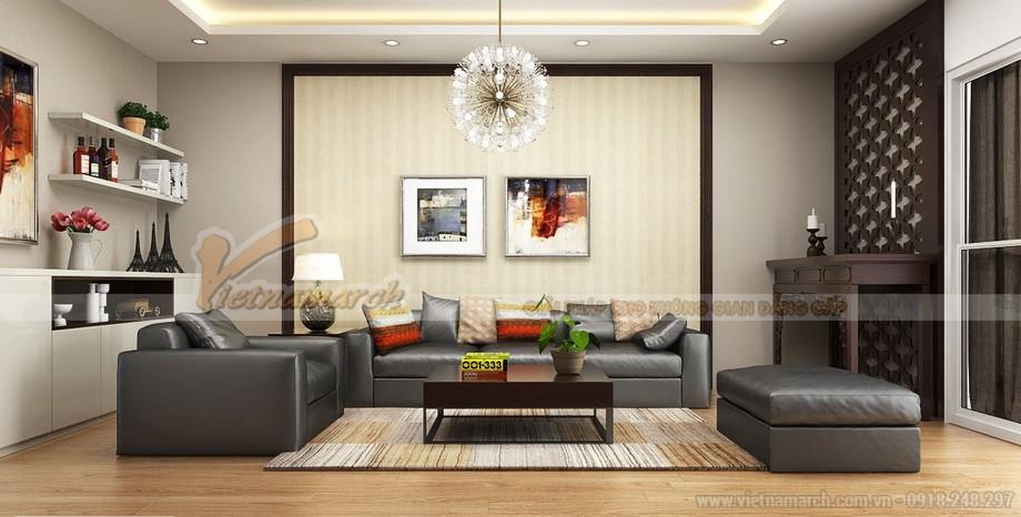Thảm trải sàn cho phòng khách thêm sang