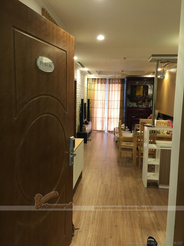 Thi công hoàn thiện nội thất cho căn hộ park5