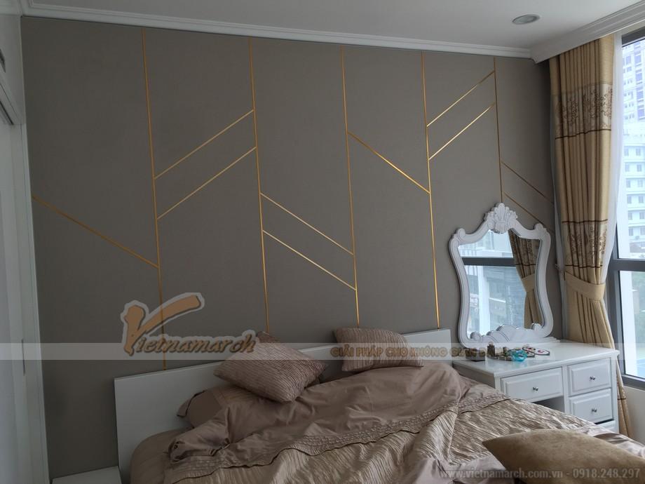 Không gian nội thất phòng ngủ master của bố mẹ