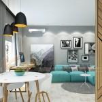 Tư vấn thiết kế nội thất hiện đại căn hộ 2 phòng ngủ Vinhome Skylake