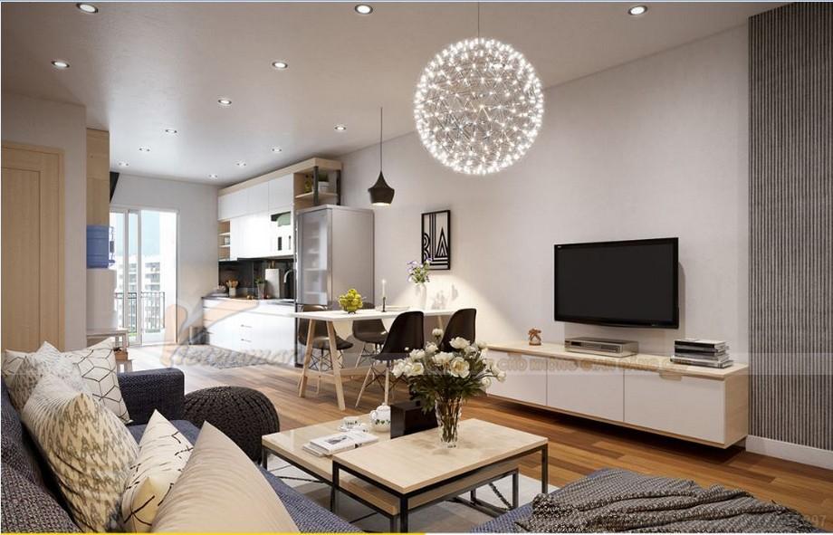 Thiết kế nội thất căn hộ 03 tòa S2 khu chung cư chung cư Vinhome Skylake-03