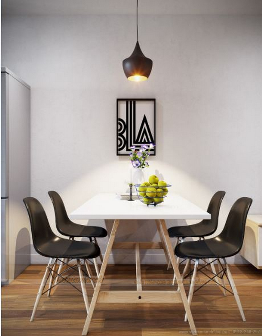 Thiết kế nội thất căn hộ 03 tòa S2 khu chung cư chung cư Vinhome Skylake-05