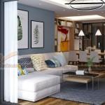 Thiết kế nội thất chung cư Skyline Văn Quán nhà anh Sinh