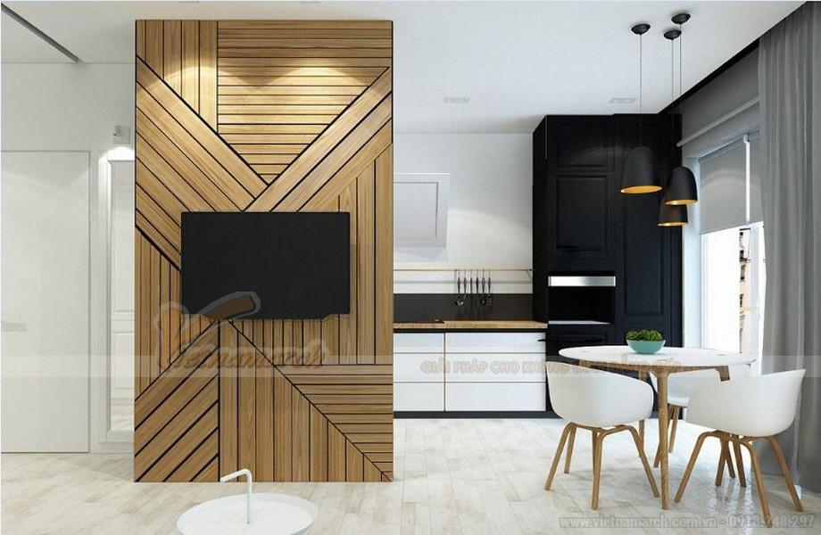 Tư vấn thiết kế nội thất hiện đại căn hộ 2 phòng ngủ Vinhome Skylake-04