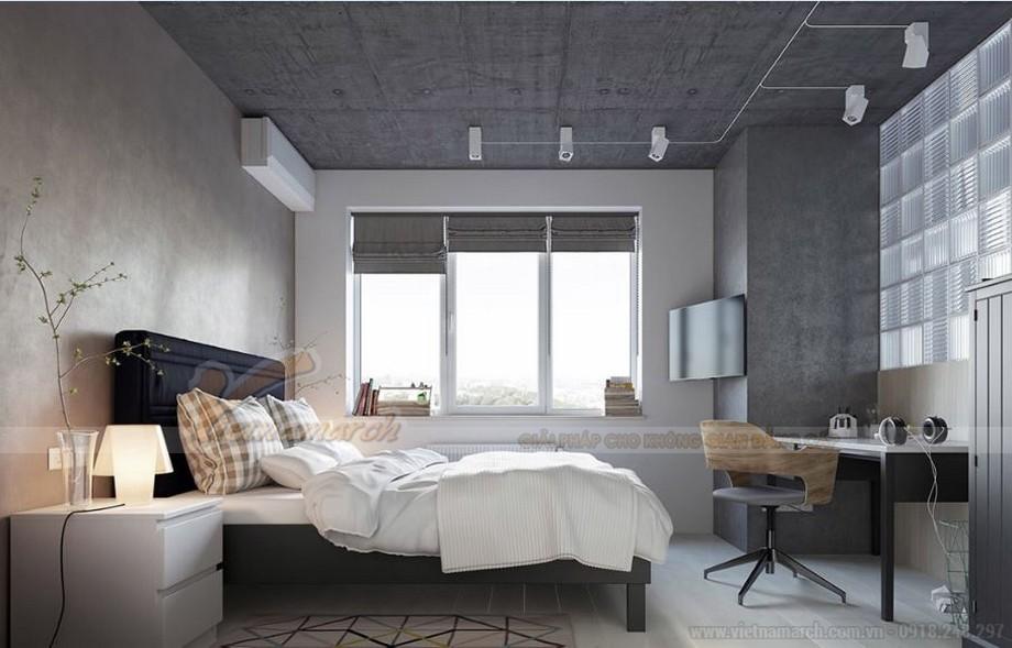 Tư vấn thiết kế nội thất hiện đại căn hộ 2 phòng ngủ Vinhome Skylake-06