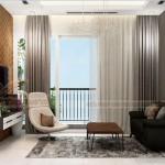 Thiết kế nội thất hiện đại sang trọng căn hộ 12 tòa S2 chung cư Vinhome Skylake