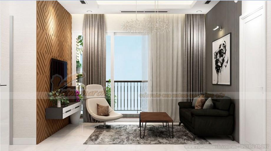 Thiết kế nội thất hiện đại sang trọng căn hộ 12 tòa S2 chung cư Vinhome Skylake-02