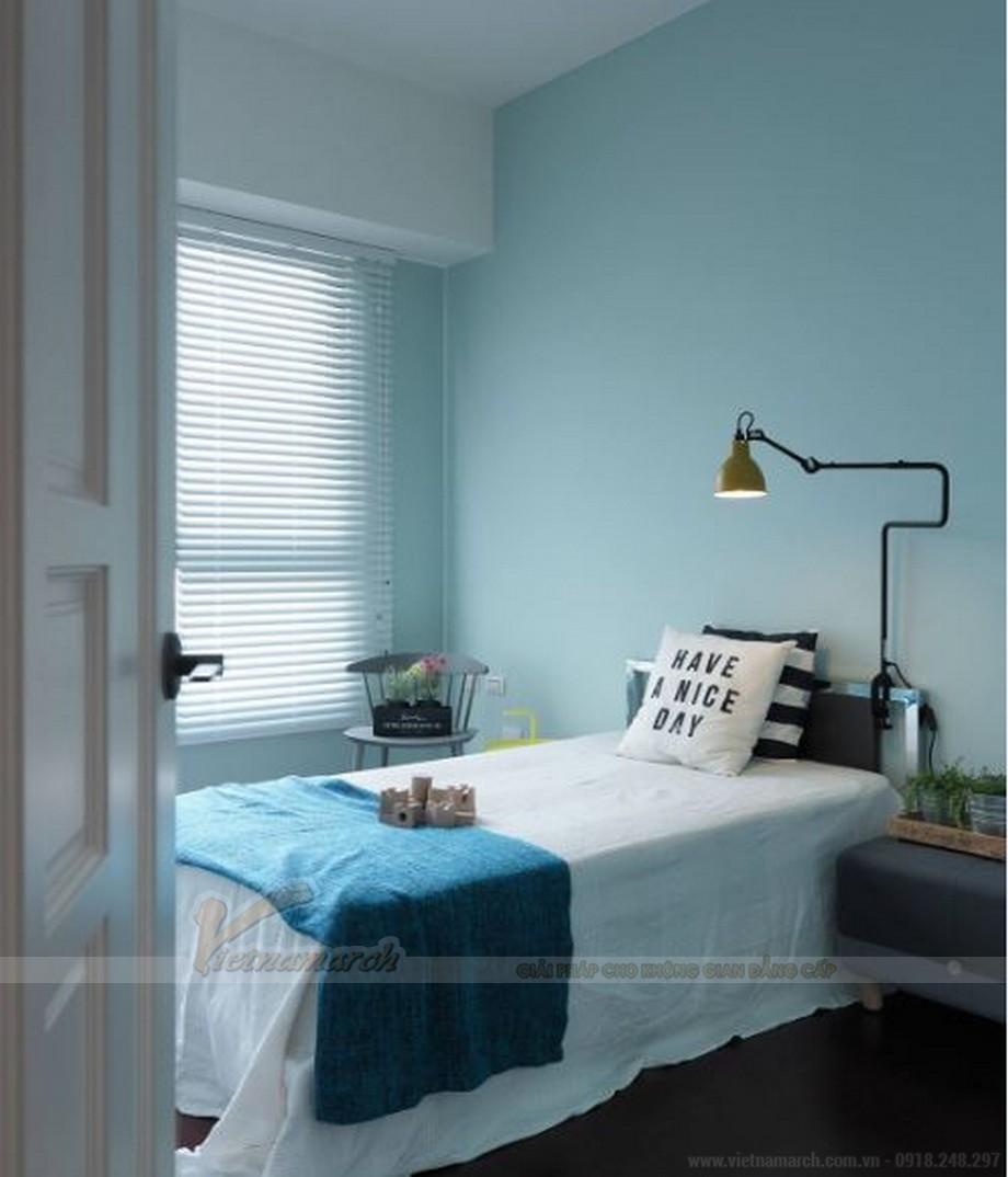 Thiết kế nội thất phòng ngủ đẹp lung linh cho căn hộ Vinhome Skylake-05